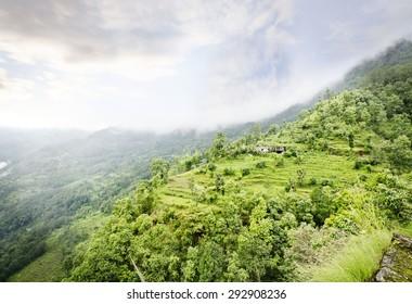 Beautiful valley view near kaluk