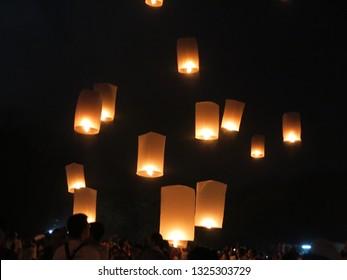 Beautiful Vesak Lampion Festival