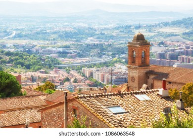 Beautiful view of the ancient city of Perugia. Umbria, Italy