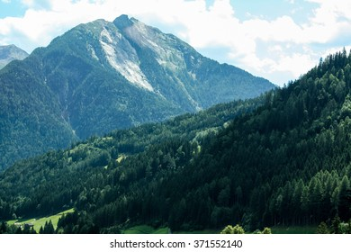 A beautiful view of the Austrian Alps