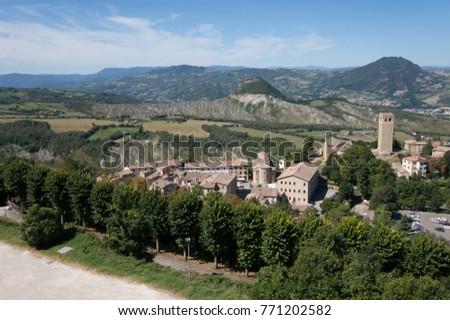 Beautiful View Authentic Comune Di San Stock Photo Edit Now