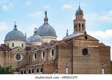 Beautiful view of the Basilica of Santa Giustina of Padua, Italy
