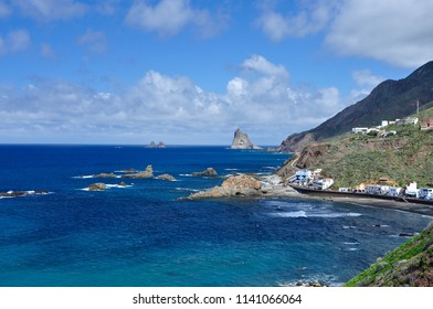 Beautiful view of Benijo from Taganana, Tenerife
