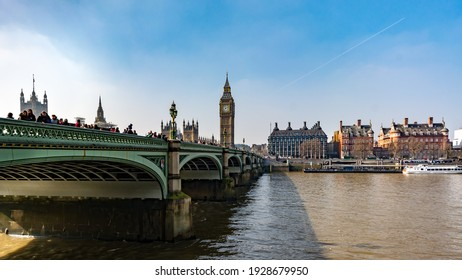 A beautiful view of Big Ben and old buildings captured in London, England