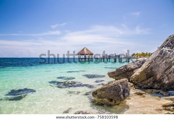 Beautiful view in Cancun, Mexico