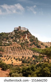 Beautiful view of the castle of Palmela.