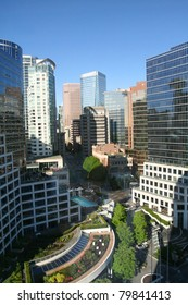 Beautiful view of downtown Vancouver Canada
