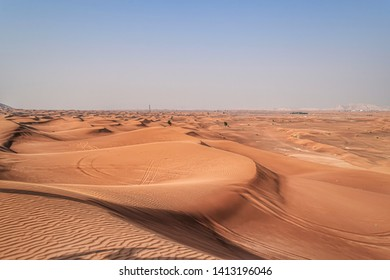Beautiful view of Dubai desert. It's one of the famous spots to visit in Dubai.