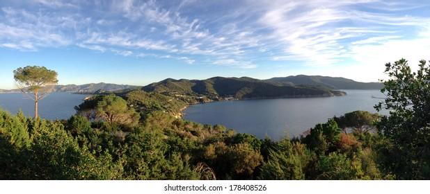 beautiful view of Elba Island