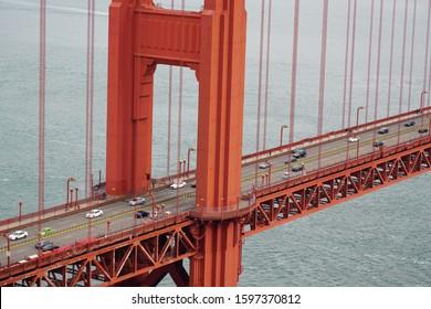 Beautiful view of  Golden gate bridge, San Francisco