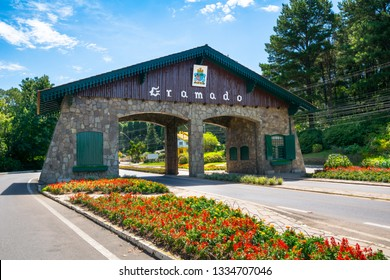 Beautiful view of Gramado city Gateway - Gramado/RS - Brazil