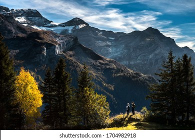 Beautiful view of the Gran Paradiso National Park