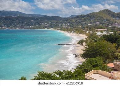 Beautiful View Of Grand Anse In Grenada