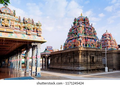 Beautiful view of  Hindu Kapaleeshwarar Temple,Chennai, Tamil Nadu, South India