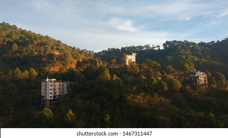 Beautiful view from the hotel in Kasauli, India