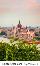 Beautiful view of Hungarian parliament, Budapest , Hungary