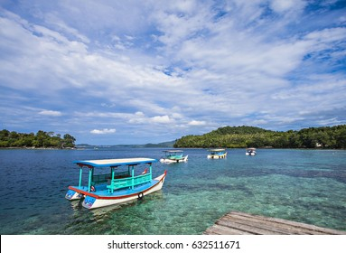 Beautiful View of Iboih Beach, Sabang, Aceh, Indonesia