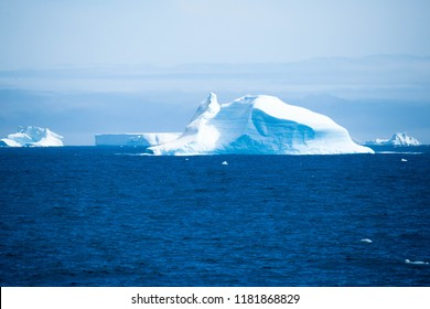 Beautiful view of the iceberg in Antarctica