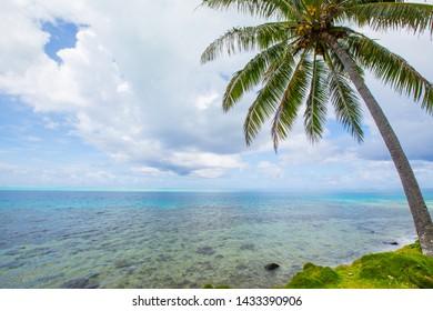 Beautiful view of Huahiné islande
