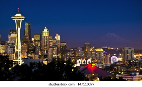 A beautiful view from kerry park
