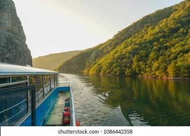 Beautiful view of Koman Lake