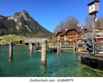 Beautiful view of Lake Königssee, Germany