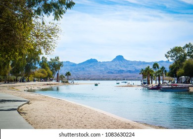 A beautiful view of Lake Havasu