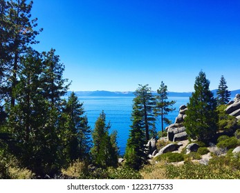 Beautiful view of Lake Tahoe in summer.