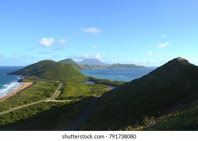 Beautiful view landscape  Basseterre, St. Kitts