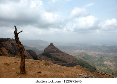 Beautiful View of Lonavala Mountain in Maharashtra India.