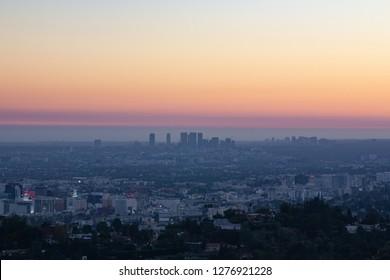 Beautiful view at Los Angeles, USA
