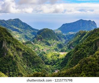 Beautiful view of Madeira island, Portugal, Europe.