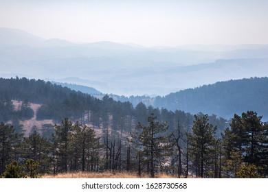 Beautiful view of Maljen mountain, Serbia