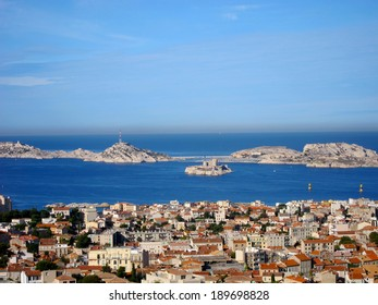 Beautiful view from Marseilles, France