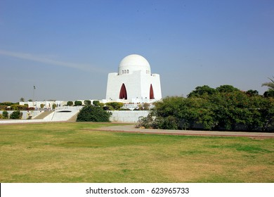 Beautiful View of Mazar-e-quaid - Mohammad Ali Jinnah, Karachi Pakistan - 20/12/2012