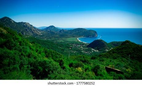 Beautiful view of Montenegrin landscape