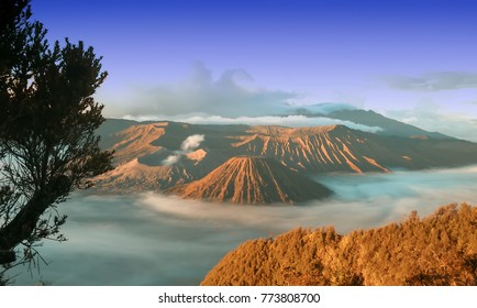 Beautiful View Mount Bromo