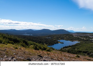 Beautiful view at the mount Jacques-Cartier, in the Gaspésie national park, Canada