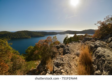 Beautiful view of National Park Mljet Island, Croatia, Adriatic Sea