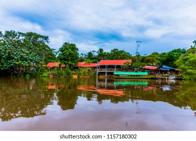 Beautiful view near the Amazon river, Iquitos, Peru