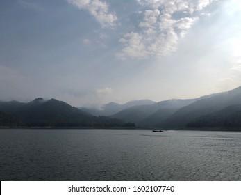 Beautiful view near Mae Ngat dam, Chiang Mai