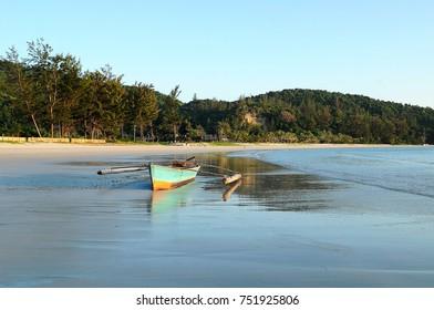 beautiful view of north Borneo beach