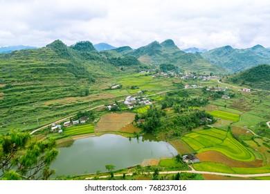 Beautiful view of North Vietnam.