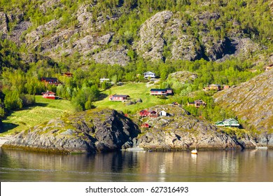 Beautiful view of northern Norway near Alta
