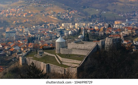 a beautiful view of the old historical town of Travnik, Bosnia and Herzegovina