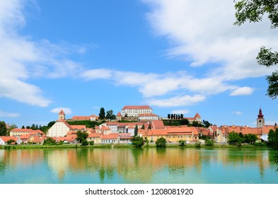 Beautiful view of the old town of Ptuj, Slovenia