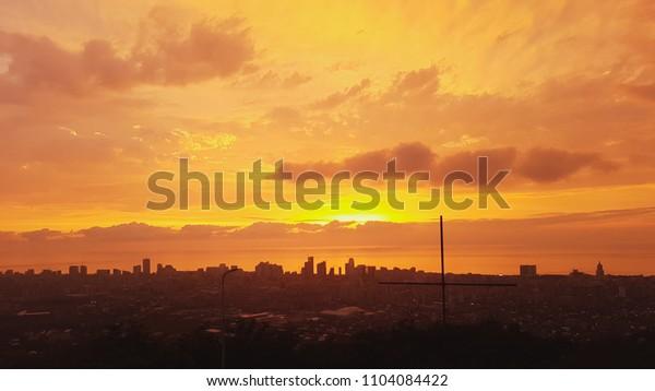 Beautiful view on Batumi