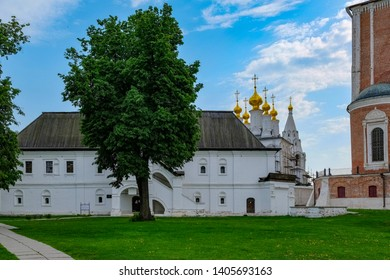 Beautiful view on the Ryazan Kremlin, Russia