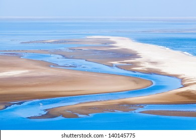 Beautiful view on Sandwich Harbour in Namibia, Africa