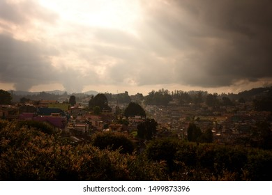 a beautiful view of ooty in autumn .